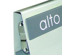 Выдвижная система для  ящиков , Alto 86/550 цвет серый , 30 кг крепление к фас в комплекте .., фото 1