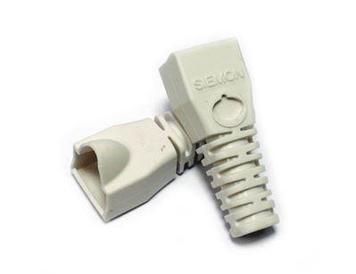 Siemon MC-BOOT-02-100 Комплект колпачков, белые (100 шт.)