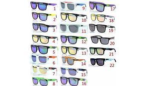 Солнцезащитные очки SPY+ Helm, черная оправа, фиолетовые дужки., фото 2