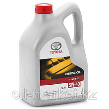 Моторное масло Тойота / TOYOTA ENGINE OIL SYNTHETIC 5W-40 5L 0888080375GO