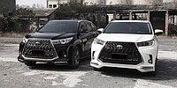 Обвес Superior на Toyota Highlander