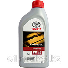 Моторное масло Тойота / TOYOTA ENGINE OIL SYNTHETIC 5W-40 1L 0888080376GO
