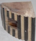Деревянный домик для хомячка, 9.5Х9.5см, длина 13см, фото 1