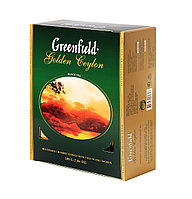 Greenfield Golden Ceylon, black tea 100пак