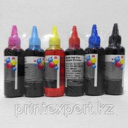 Чернила Epson (EIM) комплект из 6-цветов водорастворимые (BL+C+M+Y+LM+LC) 100 мл, фото 2