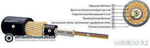 Оптический кабель для прокладки в грунт ОКП-Т (диэлектрический) На основе центральной трубки