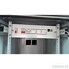 Телекоммуникационный климатический шкаф ШКК-42U (напольный), фото 2