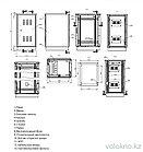 Телекоммуникационный климатический шкаф ШКК-42U (напольный), фото 4