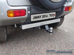 Фаркоп (оцинкованный, надпись Jimny, шар E), Suzuki Jimny 2012-