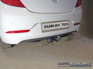 Фаркоп (оцинкованный, шар A), Hyundai Solaris 2014-2017
