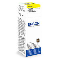 Контейнер с чернилами Epson C13T66444A L100 | L110 | L200 | L210 | L300 | L355 Yellow ink bottle 70ml