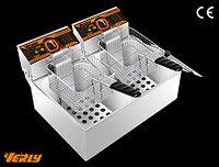 Фритюрница профессиональная 11 литров (электрическая), фото 1