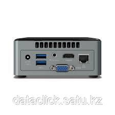 "Intel NUC kit: Cel J3455, 2xDDR3L SODIMM (max 8GB), 2.5"" SATA SSD/HDD, SDXC UHS-I slot, Wireless-AC 3168 (M.2, фото 2"