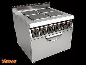 Плита электрическая четырехконфорочная с жарочным шкафом