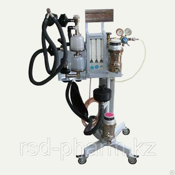 Аппарат для ингаляционного наркоза Полинаркон-12 с аппаратом приставкой ИВЛ Диана
