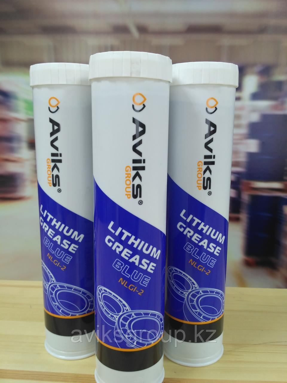 AVIKS Lithium Grease BLUE , картуш 380гр