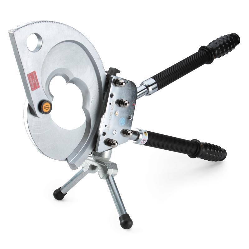 Секторные ножницы для резки бронированных кабелей КВТ НС-100