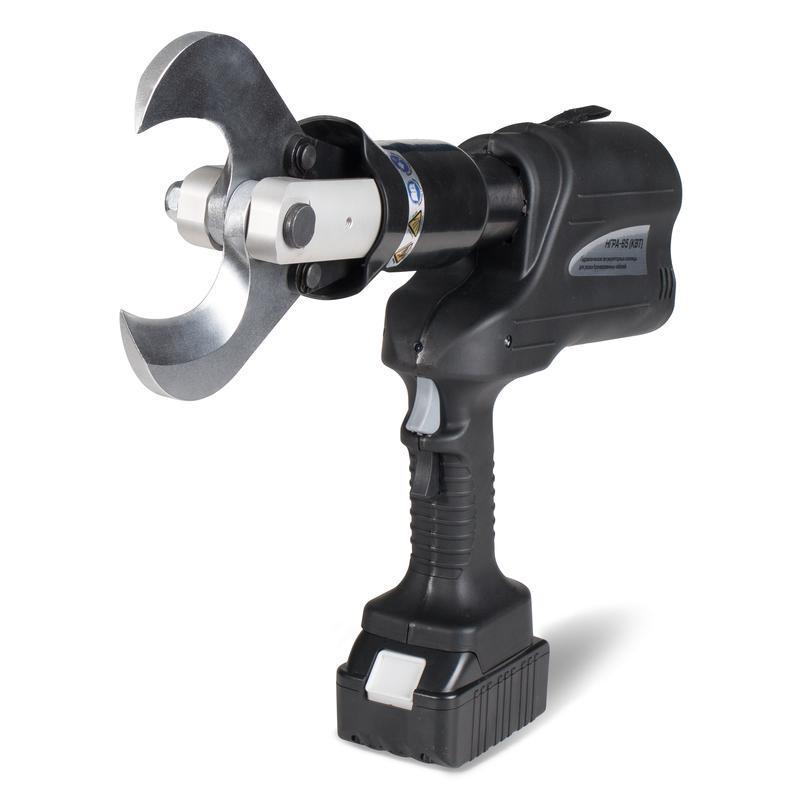 Гидравлические аккумуляторные ножницы для резки бронированных кабелей КВТ НГРА-65