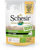 Schesir Bio консервы для собак курица 85г, фото 1