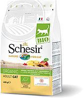 Schesir Bio сухой корм для кошек, домашняя птица 400г
