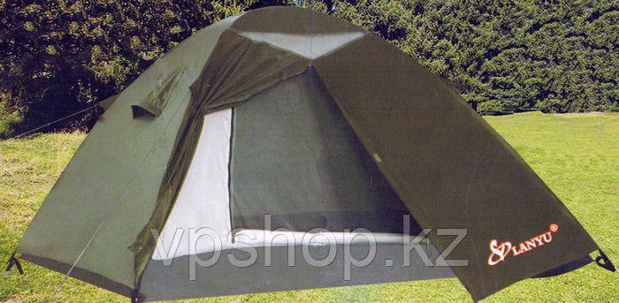 Трехместная палатка для туризмаLANYU LY-1648, доставка