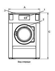 Промышленная стиральная машина Electrolux W5180H с функцией АКВА-ЧИСТКИ 20 кг, фото 2