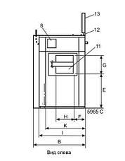 Промышленная стиральная машина Electrolux WB5180H 18 кг, фото 3
