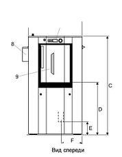 Промышленная стиральная машина Electrolux WSB5350H WS5350H 35 кг, фото 2