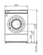 Высокоскоростная стиральная машина Imesa LM 14 M AQUA, фото 2