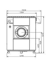 Высокоскоростная стиральная машина Imesa LM 30, фото 3