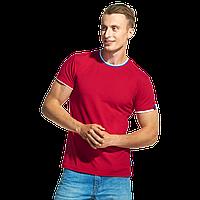 Мужская футболка «триколор» EkaterinaCity 1402 Красный L/50