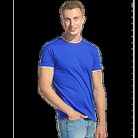 Мужская футболка «триколор» EkaterinaCity 1402 Синий S/46
