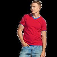 Спортивная футболка «триколор» MoscowStyle 14021 Красный S/46