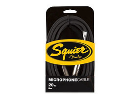 Микрофонный кабель Squier® Microphone Cable, 20', Black, Single