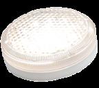 Антивандальный светодиодный светильник Айлин LED ЖКХ 15-МДД-Ф-220В D180 (с микроволновым датчиком движения, фотодатчиком, 15Ватт)