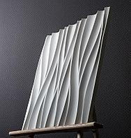 Гипсовая 3D панель Поток 500x500x28 мм, фото 7