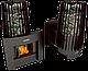 Печь для бани Grill'D Cometa 180 window black 8-24 м3, фото 2