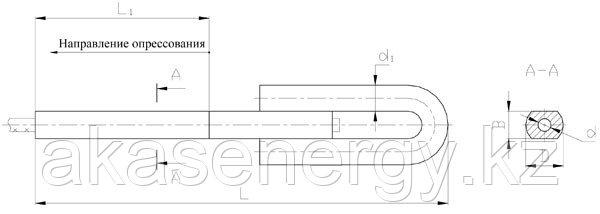 Зажимы натяжные клиновые НС-230-3, НС-260-3, НС-300-3