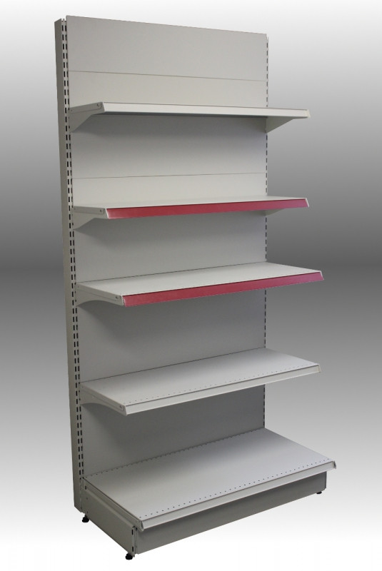 Стеллаж металлический пристенный секция 2200*400/400