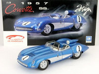 1/18 Auto Art Chevrolet Corvette SS 1957 (синий)