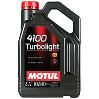 МОТОРНОЕ МАСЛО MOTUL 4100 TURBOLIGHT 10W-40  4 литра