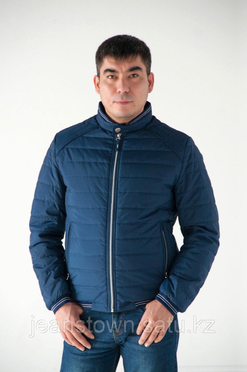 Куртка мужская демисезонная Kings  Wind короткая, синяя