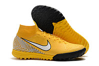 Шиповки Nike MercurialX SuperflyX VI Club TF NEYMAR yellow/white/black