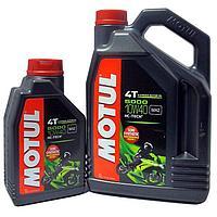 Моторное масло MOTUL 5000 4T 10W-40 1литр