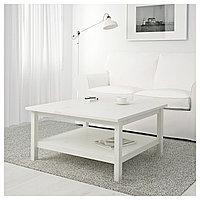 Стол журнальный ХЕМНЭС белая морилка ИКЕА, IKEA, фото 1