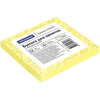 Бумага для заметок с клейким краем 75x75 100л. желтый OfficeSpace # 178229 /St75-75zh_1792