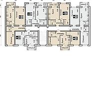 1 комнатная квартира в ЖК  Boston Comfort House  40.57 м², фото 1