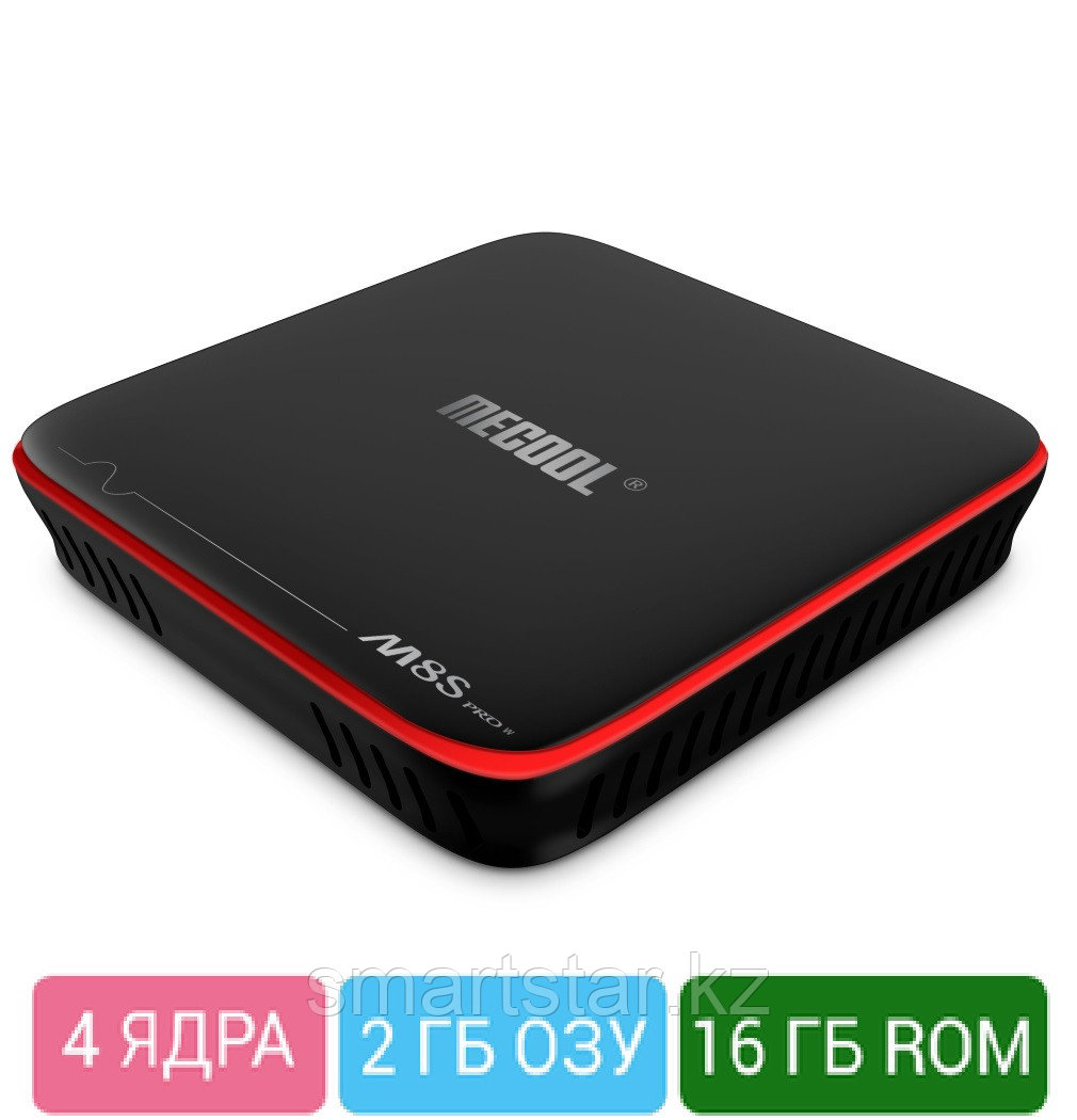 Mecool M8S Pro W 2/16гб android smart tv box
