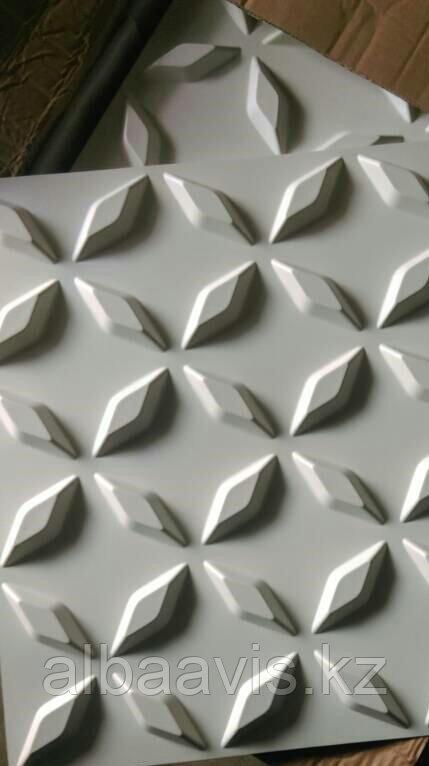 Гипсовые 3Д панели Сапфир  50х50х2,5 см