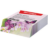 """Блок для записи декоративный на склейке Berlingo """"Бабочки"""", 9*11*3см"""